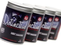 Just £30 for THREE TUBS of Distinctive Washing Powder for men