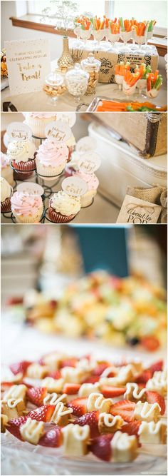 Imago Dei Photography, Baby Shower Decorations, Chic Baby Shower Ideas, gold baby shower, non traditional baby shower ideas