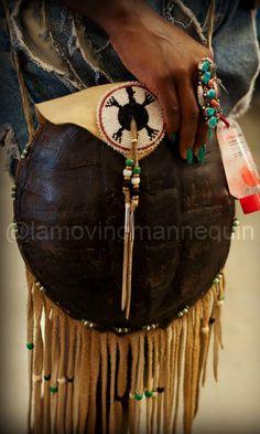 Raqi's Closet: Native American Turtle Shell Purse