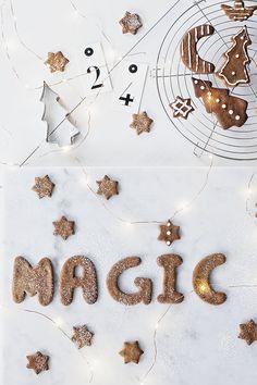 Onsdag & pepparkaksbak. Och det känns just magiskt att inspirationen är...