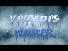 Vivaldi's Winter - Movement Video - YouTube Kindergarten Music, Preschool Music, Music Activities, Teaching Music, Vivaldi Spring, Snow Song, Primary Songs, Music Classroom, Classroom Ideas