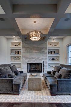 living room / Wolfe Rizor Interiors, Winter Park, FL. Michael Lowry Photography.