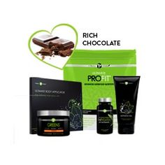 Fit Pack (CHOC)   It Works!® Get all the body-refining, fat-fighting powers of the Skinny Pack plus the superior nutrition of Greens™-Orange and Ultimate ProFIT™ to alkalize, energize, build lean muscle, and achieve your total body makeover goals.