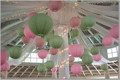 pink and green wedding decoration | Beach Decorating Ideas For the Perfect Beach Wedding Celebration