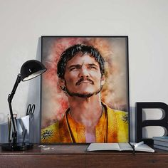 Oberyn Martell  Game of Thrones Art Print Poster  by BlackSailsUK