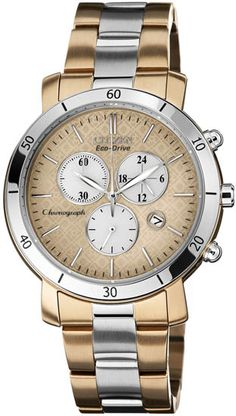 Citizen FB1346-55Q Watch AML Ladies - Rose Gold Dial Stainless Steel Case Quartz Movement