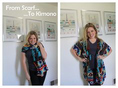 Keeping Up With Us Jones': Refashion: making a Kimono from a Scarf