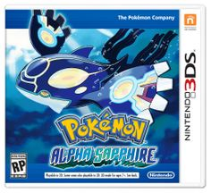 Pokemon Alpha Sapphire box art YHIS IS REAL EVERYONE!!!!!!! IT WAS ON THE POKEMON WEBSITE!!!!!
