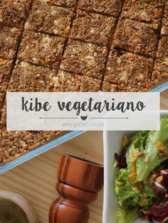 Aprenda a fazer um delicioso kibe (ou quibe) vegetariano, com ricota e legumes refogados. Garanto que você vai se apaixonar por esse prato! Passo a passo completo em http://gordelicias.biz.