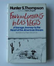 HUNTER S. THOMPSON ~ FEAR AND LOATHING IN LAS VEGAS ~ TRUE FIRST EDITION
