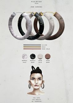 mijn.bötique / accessories - pure earrings | Flickr - Photo Sharing!