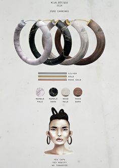mijn.bötique / accessories - pure earrings | Flickr - Photo Sharing!