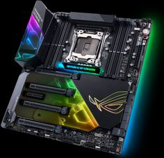 With Computex 2017 well underway in Taiwan, hardware manufacturers have been busy. Motherboard and video card manufacturer Asus in particular has announced a bevy of new PC gaming products for consumers to get their hands on, of interest to this website i Gaming Pc Build, Computer Build, Gaming Pcs, Gaming Computer, Laptop Computers, Computer Rooms, Computer Laptop, Pc Asus, Asus Rog
