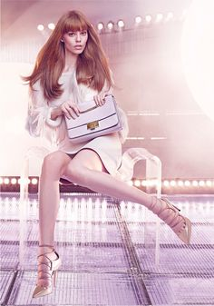 a3907fee8eae Ondria Hardin Takes Center Stage in Jimmy Choo s Fall 2015 Campaign