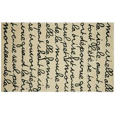 Trans Ocean Imports Liora Manne Spello Poem Indoor Outdoor Rug (Black) ($54) ❤ liked on Polyvore featuring home, rugs, black, black outdoor rug, black rugs, pattern rug, liora manne rug and indoor outdoor area rugs