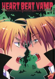 MOVED — USUK Doujin - Heart Beat Vamp