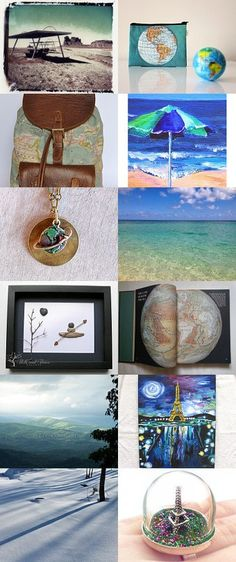 See the World by Kim Cole on Etsy--Pinned with TreasuryPin.com