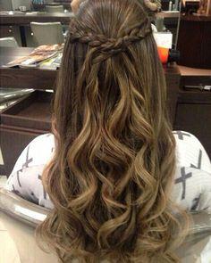 Hair Styles Long Thin Hair Updo Ideas - All For New Hairstyles Thin Hair Updo, Long Thin Hair, Wavy Hair, Unice Hair, Hair Band, Braided Hairstyles, Wedding Hairstyles, Hairstyles Videos, Pretty Hairstyles