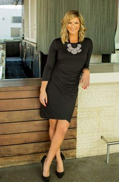 LBD with statement necklace