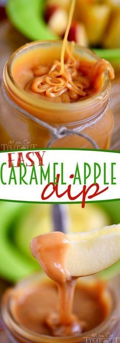This Easy Caramel Apple Dip is made with just THREE ingredients! No one can resist this creamy, decadent dip - perfect for parties! | eBay