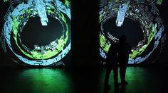 #technology #SmartWall #art #digital    La Nuit Digitale 2012 (Bordeaux) :  Une oeuvre interactive conçue et réalisée par 2Roqs lors de la Nuit Digitale 2012 qui s'est déroulée le 31 mars 2012 au Musée d'Art Contemporain de Bordeaux, dans le cadre de la seconde édition de la Semaine Digitale.