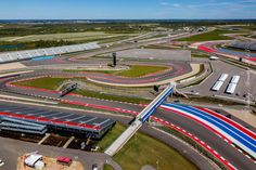 The Track from above Circuit Of The Americas, Formula One, Baseball Field, Track, F1 News, Photography, Photograph, Runway, Fotografie