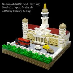 Yoong Shirley modeled the Sultan Abdul Samad Building, a historic landmark in Kuala Lumpur. The building, completed in 1897, currently houses the offices of the Ministry of Information, Communicati…