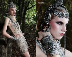 Model: Dayana D from Diva Models  Makeup & Hair: Christine Yong  Frederick Lee Couture
