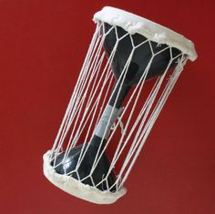 Make a Talking Drum out of Funnels