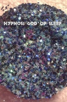Hypnos: God of Sleep (raw glitter mix)