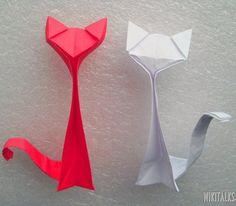 Gatito origami