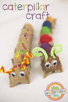 Easy Preschool Caterpillar Craft