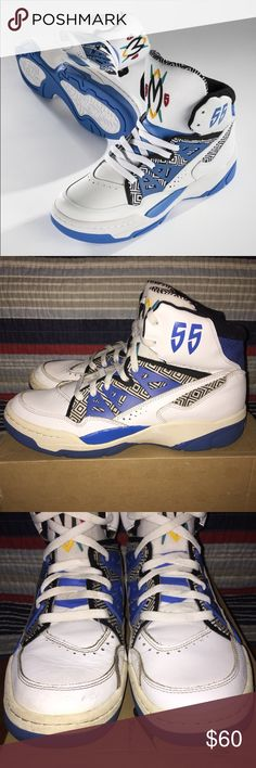 huge selection of d11e8 24e4c Adidas Mutombo Sneaker Adidas Mutombo Sneaker - Men s size 10.5 - OG  white blue colorway