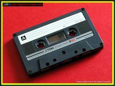 Early 1980s TDK D 60 Audio Cassette | Tape Tardis