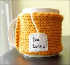 cute tea mug cozy. So adorable!