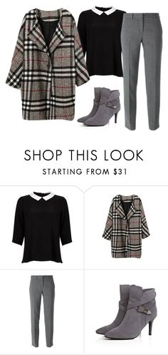"""Sin título #850"" by cinseep ❤ liked on Polyvore featuring Lipsy and DKNY"
