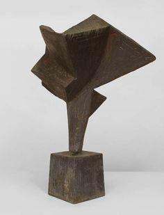 Mid-Century American Abstract Welded Steel Sculpture