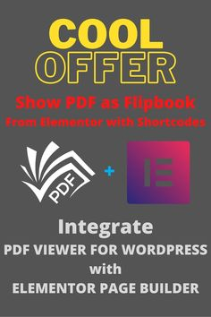 Are you looking forward to show PDF on your #wordpress #website? Are you looking to show PDF easily with elementor plugin? You have your solution. Best WordPress PDF viewer plugin , PDF VIEWER FOR WORDPRESS has a cool addon to work with elementor page builder. Now show you PDF on WordPress website easily by the simpliest way using shortcodes. #wordpressdeveloper #wordpressblog #wordpresswebsite #blogger #ebook #author #resturantwordpress #wordpresspdf Etsy Business, Online Business, Lightning Sound, Flirty Texts For Him, Seo Report, Book Flatlay, Free Avatars, Game Data, Classroom Training