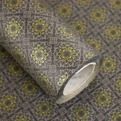 """Roll Gift Wrapping Paper Chrysanthemum Gray 20.8"""" x (L) 32Ft #Unbranded…"""
