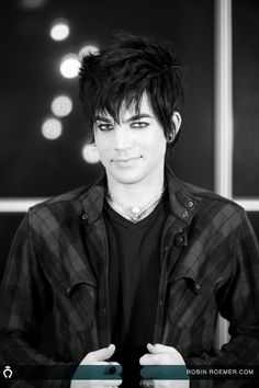 I know its weird and im not picky but if I could choose what my future husband would look like , he would look like Adam Lambert . Been crushing on him sine 7th grade haha .