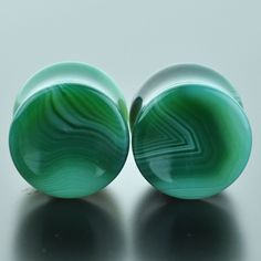 Green Banded Agate #GGB-014-4-C