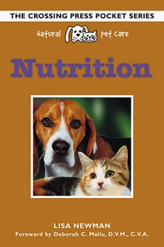 Natural Pet Care Nutrition Crossing Press Pocket Guides ** See this great product. (Note:Amazon affiliate link)