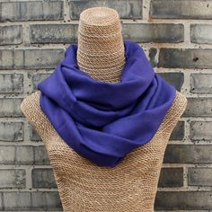Amethyst Purple Pashmina Shawl - 100% Pure Cashmere . Hand-spun & hand-loomed in the Kashmir Valley