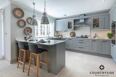 #grey #countryside #pangbourne #millgate #Berkshire #kitchen #luxuryliving #dreamhome #interior #interiordesign #lighting #furniture #kitchengoals