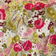 Vera Bradley fabric Remnant Cotton Make Me Blush 1 Yard Vera Bradley Patterns, Sewing Diy, Fabric Remnants, Blush, Yard, Stitch, Cotton, Design, Patio