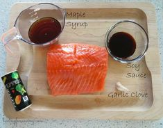 Baked Salmon with Maple Glaze Recipe