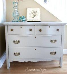 cg dresser gray blue - Painting Furniture