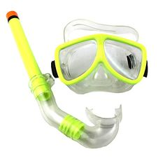 Diving Goggles Breathing Tube Suit Snorkeling Swimming Glasses From 24,95 for € 17,=