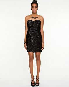Glittering embellishments will have you shining bright at your next night-out.