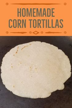 Corn tortillas are my ABSOLUTE favorite. What makes this even better is there are only 3 ingredients to get you on your way to Enjoy! Homemade Corn Tortillas, Taco Tuesday, Potato Soup, 3 Ingredients, Fried Chicken, Stir Fry, Tacos, Potatoes, Burritos